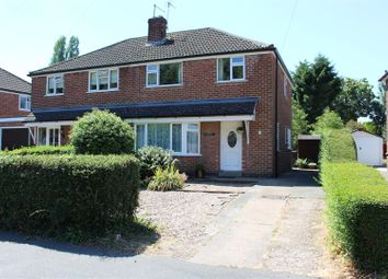 Thumbnail 3 bedroom semi-detached house for sale in Tressall Road, Whitwick, Coalville