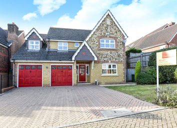 Thumbnail 5 bedroom detached house to rent in Knaphill, Woking