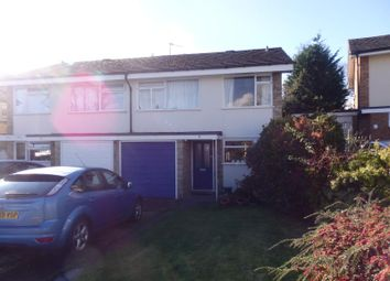 Thumbnail 3 bed semi-detached house to rent in Regent Crescent, Redhill