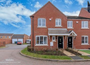 Caversham Mews, Cannock WS11. 3 bed semi-detached house for sale