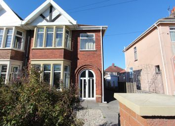 Thumbnail 3 bedroom semi-detached house for sale in Pierston Avenue, Blackpool