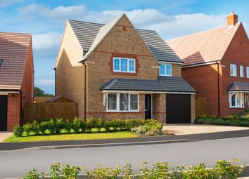 "Thumbnail 4 bed detached house for sale in ""Guisborough"" at Blackthorn Crescent, Brixworth, Northampton"
