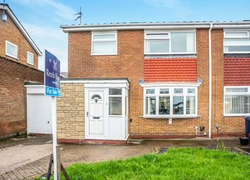 Thumbnail 3 bed semi-detached house for sale in Granville Drive, Chapel Park, Newcastle Upon Tyne