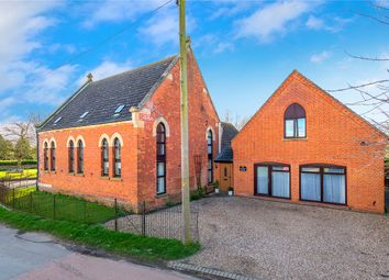 Thumbnail 5 bed detached house for sale in Hall Road, Great Hale, Sleaford, Lincolnshire