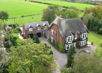 Thumbnail 6 bed detached house for sale in Station Road, Keele, Newcastle-Under-Lyme
