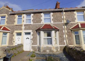 Thumbnail 3 bed terraced house for sale in Bridge Road, Weston-Super-Mare