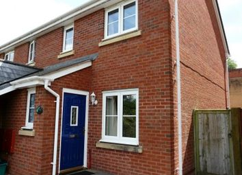 Thumbnail 2 bed semi-detached house to rent in Oakfields, Tiverton