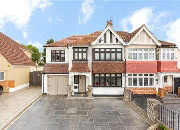 Thumbnail 4 bed semi-detached house for sale in Upminster Road, Hornchurch