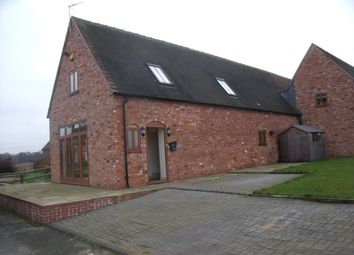 Thumbnail 4 bedroom barn conversion to rent in Norbury Junction, Stafford