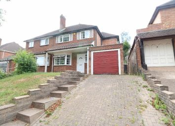Thumbnail 3 bed semi-detached house for sale in Cherry Orchard Road, Handsworth Wood, West Midlands