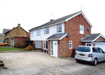 Thumbnail 3 bed semi-detached house for sale in Quinton Road, Needham Market, Ipswich