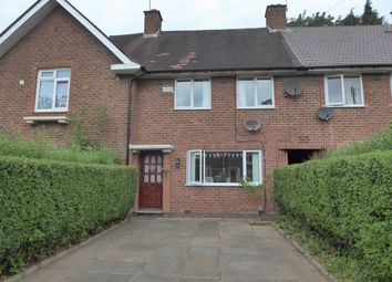 Thumbnail 3 bed terraced house for sale in Gregory Avenue, Birmingham