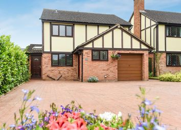 Thumbnail 4 bed detached house for sale in 13 Quantock Close, Hereford