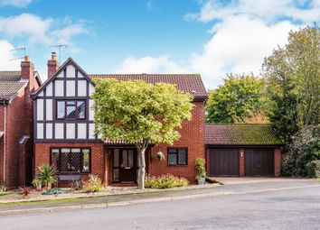 Thumbnail 4 bed detached house for sale in Snowberry Avenue, Home Meadow, Worcester