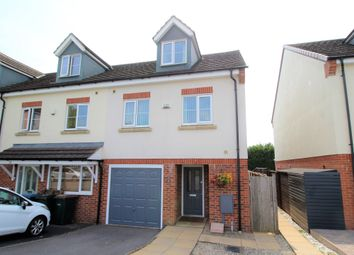 Thumbnail 3 bed town house for sale in Mistyrose Close, Allesley, Coventry