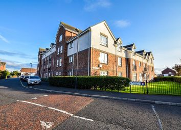 Thumbnail 2 bed flat for sale in Brabourne Gardens, North Shields