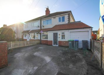 Thumbnail 4 bed semi-detached house for sale in North Drive, Thornton-Cleveleys
