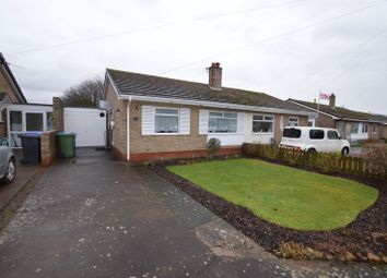 Thumbnail 2 bed semi-detached bungalow for sale in Longstone Close, Beadnell, Chathill