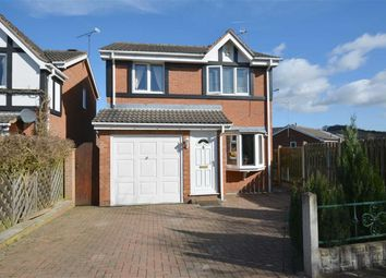 Thumbnail 3 bed detached house for sale in Longcroft Close, New Tupton, Chesterfield, Derbyshire