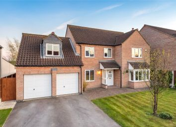 Thumbnail 5 bed detached house for sale in Millcroft, Brayton, Selby