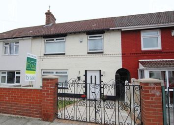 Thumbnail 3 bed terraced house for sale in Dunham Road, Wavertree, Liverpool