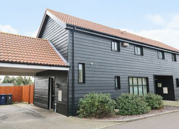 Thumbnail 2 bed semi-detached house for sale in Walnut Close, Landbeach, Cambridge