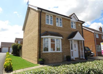 Thumbnail 3 bedroom detached house for sale in Bentley Avenue, Yaxley, Peterborough