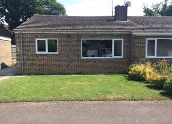 Thumbnail 2 bed semi-detached bungalow to rent in Heath Close, Milcombe, Banbury