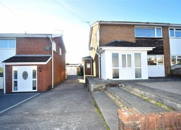 Thumbnail 3 bed semi-detached house for sale in Conway Crescent, Tonteg, Pontypridd