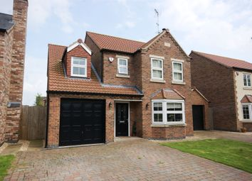 Thumbnail 4 bed detached house for sale in Championsgate, North Duffield, Selby, North Yorkshire