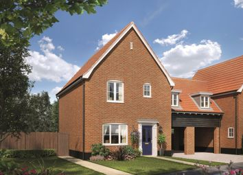 Thumbnail 3 bed link-detached house for sale in Fordham Road, Soham, Ely