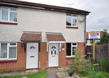Thumbnail 2 bed terraced house to rent in Redsells Close, Downswood, Maidstone