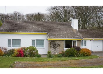 Thumbnail 3 bed detached bungalow for sale in Llanfairynghornwy, Holyhead