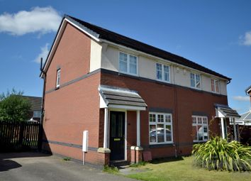 Thumbnail 3 bed semi-detached house for sale in Bellamy Drive, Leigh