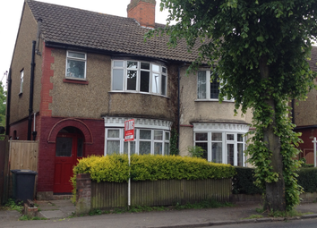 Thumbnail 3 bed semi-detached house to rent in Stockingstone Road, Luton