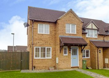 Thumbnail 3 bed end terrace house for sale in Gamekeepers Close, Swindon