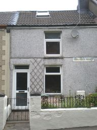 Thumbnail 2 bed terraced house to rent in Swansea Road, Hirwaun, Aberdare
