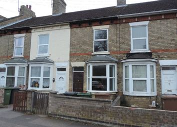 Thumbnail 3 bed terraced house to rent in Eastfield Road, Peterborough