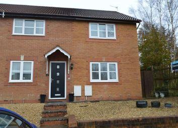 Thumbnail 3 bed end terrace house for sale in Tegfan, Swansea