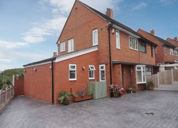 Thumbnail 4 bed semi-detached house for sale in Little Cliffe Road, Blurton, Stoke-On-Trent, Staffordshire