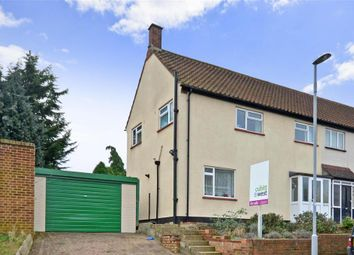 Thumbnail 3 bed semi-detached house for sale in Cox Lane, Chessington, Surrey
