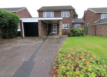 Thumbnail 4 bed detached house for sale in Saffron Drive, Snaith, Goole