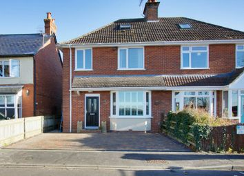 Thumbnail 4 bed semi-detached house for sale in Recreation Road, Andover