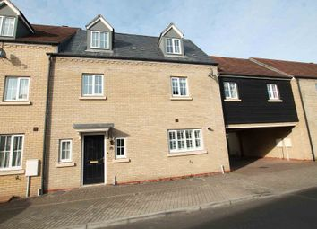 Thumbnail 4 bed town house for sale in Myrtle Drive, Burwell