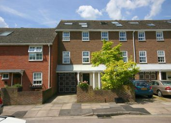 Thumbnail 4 bed terraced house to rent in Temple Road, Kew, Surrey