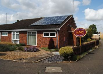 Thumbnail 2 bed semi-detached bungalow for sale in Stubble Close, Kingsthorpe, Northampton