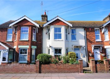 Thumbnail 3 bed terraced house for sale in Channel View Road, Eastbourne