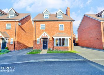 Thumbnail 4 bed detached house for sale in Hanging Barrows, Boughton, Northampton