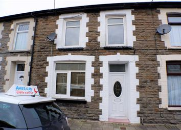 Thumbnail 3 bed terraced house for sale in Clark Street, Treorchy