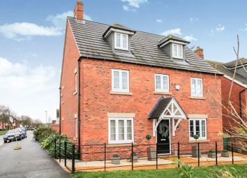 Thumbnail 5 bed detached house for sale in Barnards Way, Kibworth Harcourt